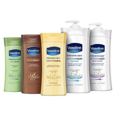 Vaseline Intensive Care Essential Healing Body Lotion 20 3 Fl Oz In 2020 Healing Lotion Healing Dry Skin Lotion For Dry Skin