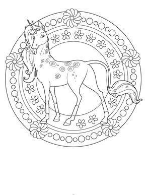 Ausmalbilder Pferde Mandala Einhorn Zum Ausmalen Ausmalbilder Pferde Zum Ausdrucken Ausmalbilder