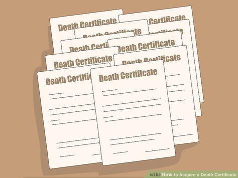 8 best Death Certificate images on Pinterest Death certificate - fresh blank death certificate template