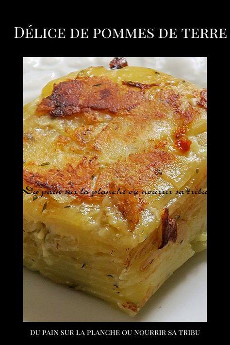 Délice de pommes de terre #cuisineetboissons