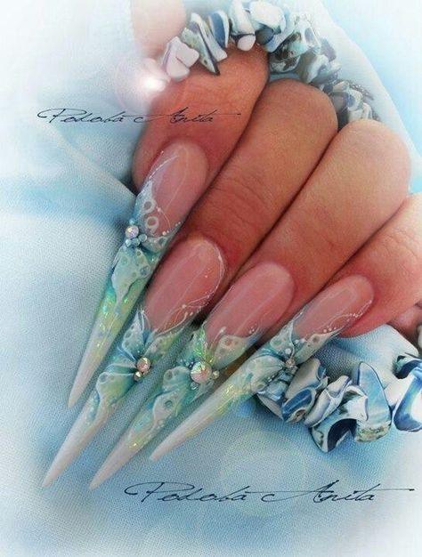 Stiletto nails