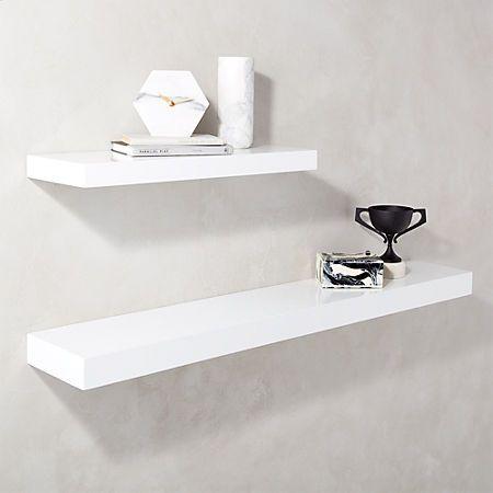 Ballucci 3 Piece Floating Shelf Set Wayfair Floating Shelves White Floating Shelves Floating Wall Shelves