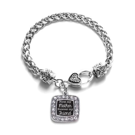 First My Mother Forever My Friend Classic Braided Bracelet