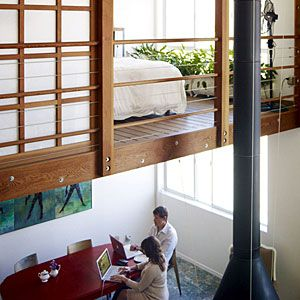 Creative loft/dining room