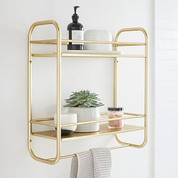 Deco Curve Metal Wall Shelves In 2020 Metal Wall Shelves Wood Floating Shelves Wall Shelves