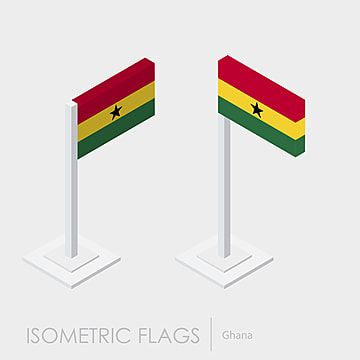 Ghana Flag 3d Isometric Style Flag Icons Style Icons 3d Icons Png And Vector With Transparent Background For Free Download In 2020 Flag Icon Geometric Pattern Background Isometric