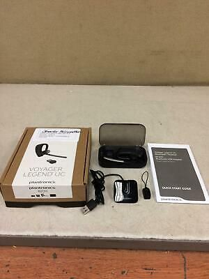 Ad Ebay Link Plantronics Voyager Legend Uc Bluetooth Headset B235 W Mini Charge Dock Case Plantronics Ebay Bluetooth Headset