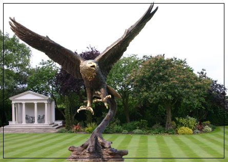 Bronze Golden Eagle | Bronze Garden Statues | Pinterest | Garden Ornaments