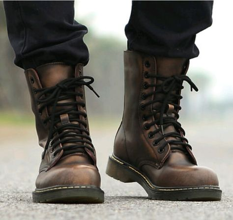 Retro Punk Mens Combat Military Rock Motorcycle Ankle Boots Lace Up Oxford Shoes – Men's style, accessories, mens fashion trends 2020 Desert Boots, Ankle Boots Men, Shoe Boots, Men's Shoes, Shoes Boots Combat, Combat Boots Style, Military Combat Boots, Mens Shoes Boots, Military Army