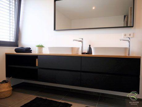 Badezimmer Möbel Schwarz