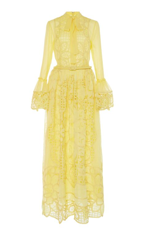 652a11d8fef One Shoulder Plumetis Maxi Dress by SELF PORTRAIT Now Available on Moda  Operandi