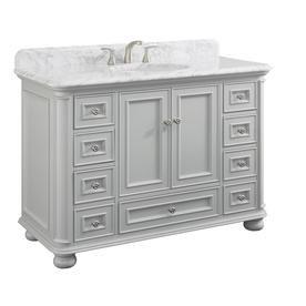 Shop Scott Living Wrightsville Gray Undermount Single Sink