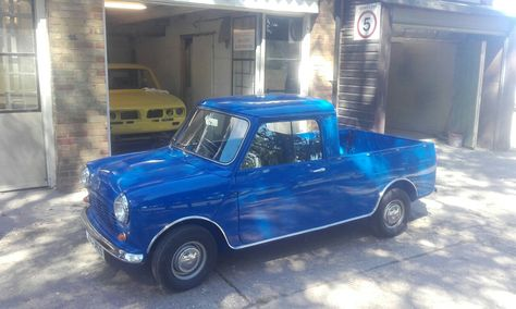Mini pick up we restored and painted.