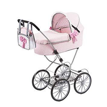 Claudio Reig Cochecito Munecas Bebe Paseo Color Rosa Rer12151 Carritos De Munecas Cochecitos De Munecas Coches Para Bebes