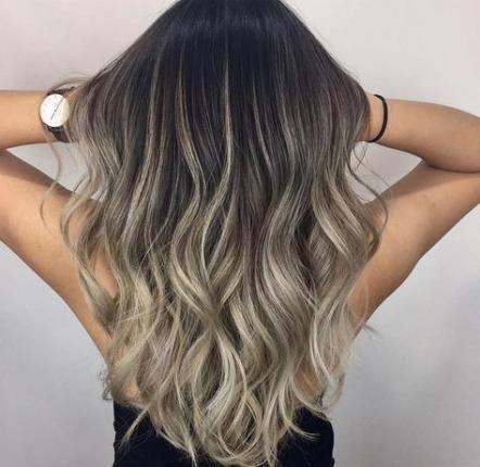 Hair Balayage Black Asian 24 Ideas Hair Brownhairbalayage In