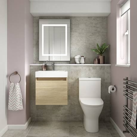 Juno 500 X 360mm Gloss White Wall Hung Vanity Unit Victorian Plumbing Uk In 2020 Wall Hung Vanity Vanity Units White Wall Hanging