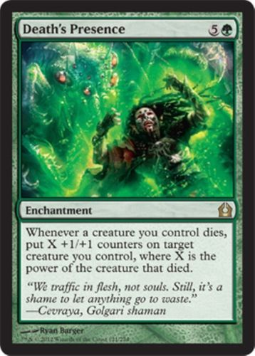 1 PLAYED Prismatic Omen Green Shadowmoor Mtg Magic Rare 1x x1