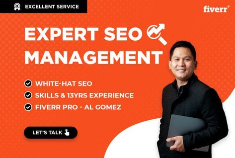 I will do expert SEO management