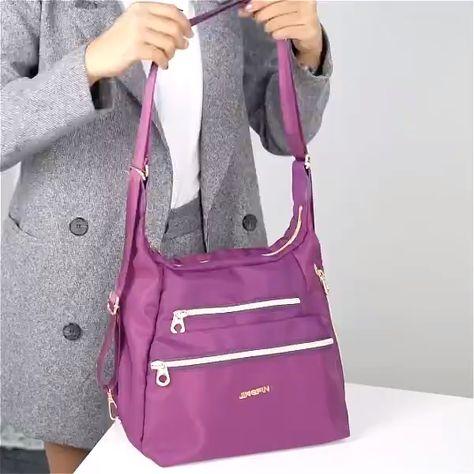 Waterproof Double-sided Multifunctional Shoulder Bag Backpack