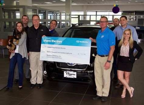 Byers Airport Subaru >> Today We Proudly Presented The Proceeds Of The Byers Airport