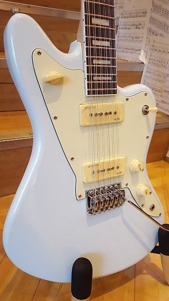 The ever successful Revelation 12 string jazzmaster style