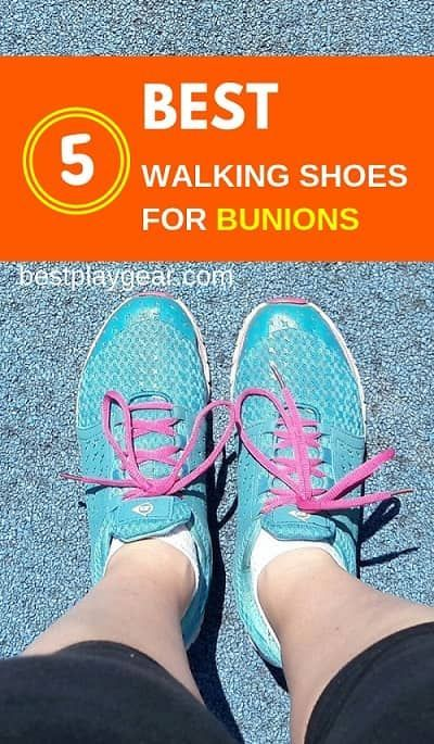 19 Best Walking Shoes For Bunions in