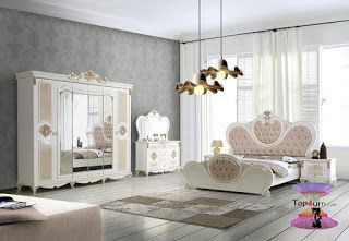 افخم غرف نوم للعرسان موديل 2020 Furniture Home Home Decor