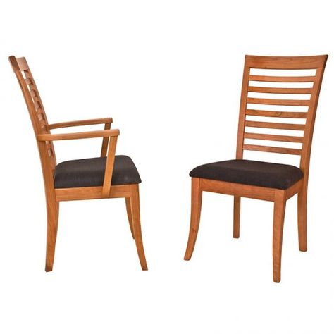 Elegant Ladder Back Chair. Made to Order in America. Restaurant Chair Style.