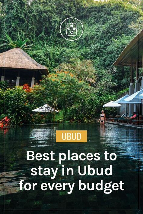 The absolute best places to stay in Ubud, Bali, for every budget. | Clarinta Travels. Here's the rundown on the places which have impressed me the most. #ubud #bali