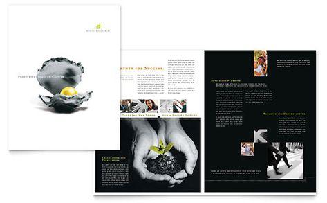 Tutoring School - Flyer Template Design Sample Print Design - microsoft publisher report templates