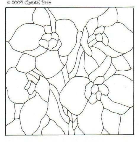 Desenhos De Flores Em Vitrais Ou Mandalas Desenhos De Flores