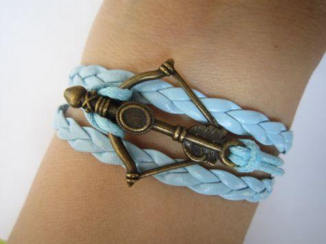 Combined Bracelet / Antiqued Bronze Disney Brave by WearingPretty, $3.99
