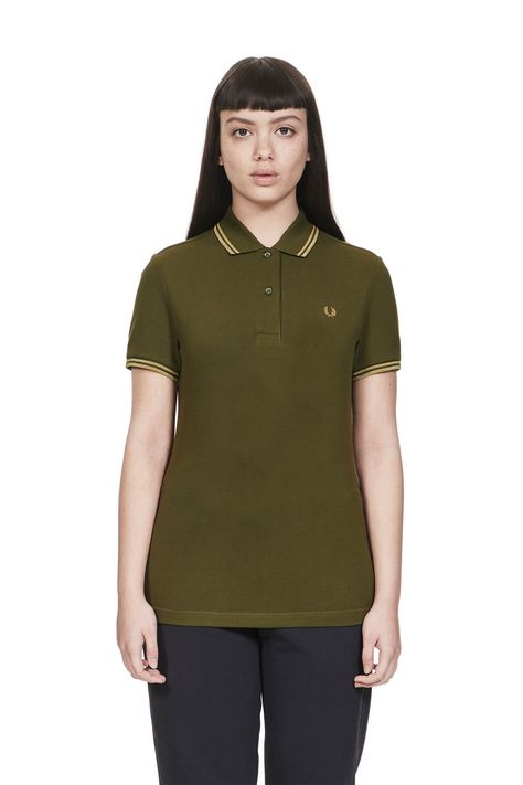 127a46102 The Twin Tipped Fred Perry Shirt. Made from our classic cotton piqué ...