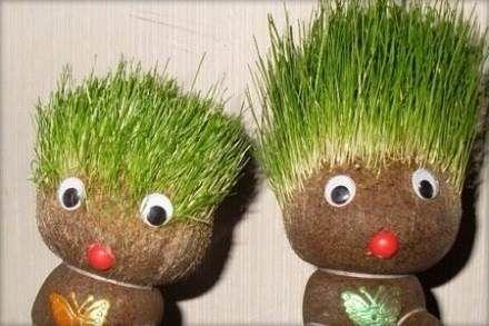 Resultado de imagen de señor cabeza de pasto | Cabeza de pasto ...