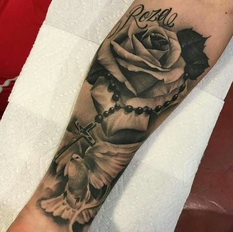 Cross Tattoo On Wrist With Bible Verse Black and grey tattoo. Black and grey tattoo.