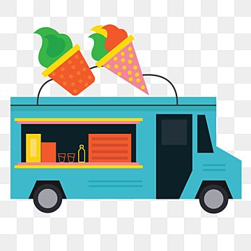 Ice Cream Truck Food Truck Drink Png And Vector With Transparent Background For Free Download Ice Cream Truck Ice Cream Cartoon Ice Cream Pictures