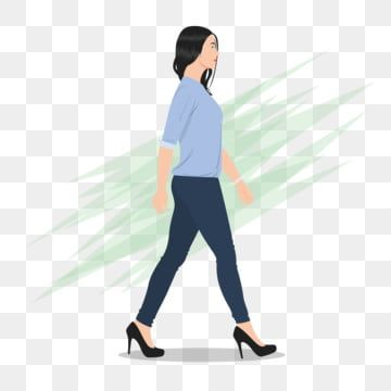 Beautiful Woman Png Images Vector And Psd Files Free Download On Pngtree Walking Women Walking Poses Beautiful Women
