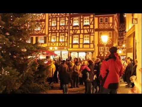 Weihnachtsmarkt in Bernkastel-Kues 2012.  A lovely village in the Hunsruck region of Germany that I visited many times.  The Christmas market is beautiful.