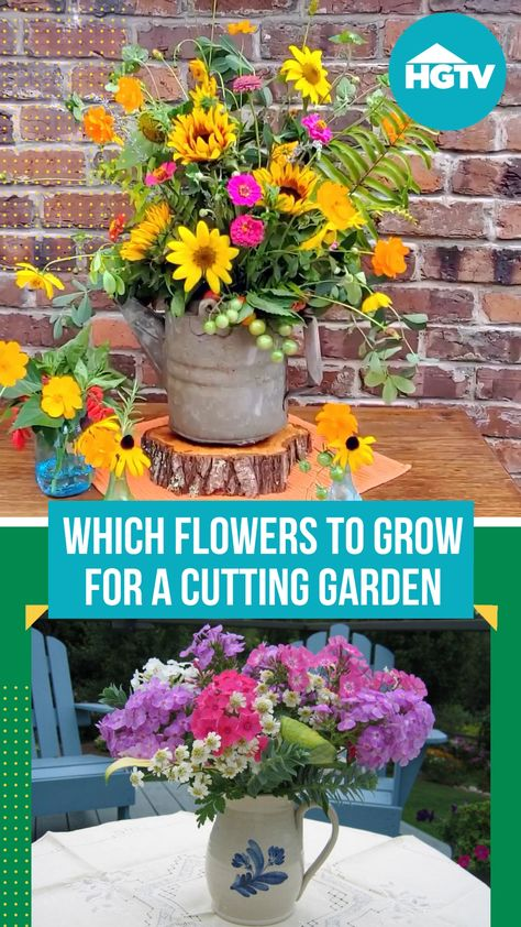 Love bouquets? 💐 Fill your yard with perennials that offer blossoms perfect for picking and plunking into vases.