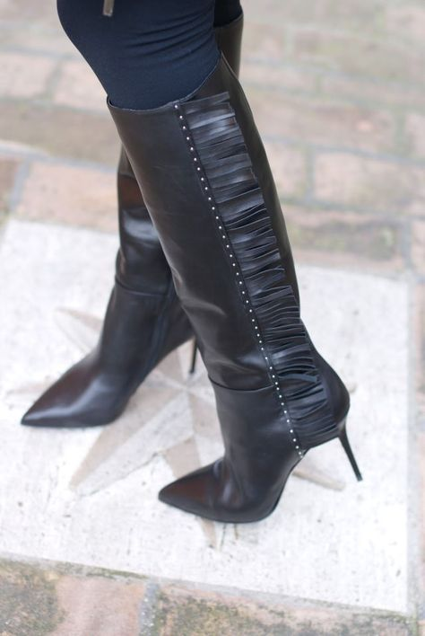 300+ Best Women's shiny black leather Boots images in 2020