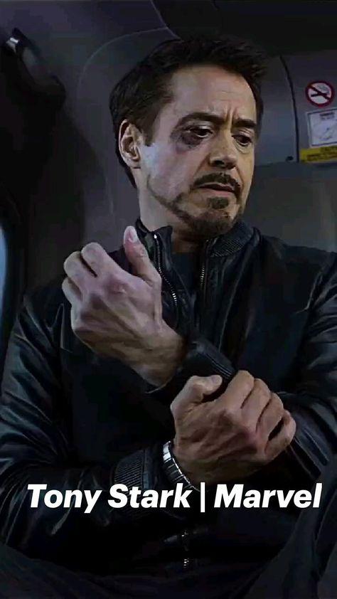 Tony Stark ❤️ #marvel #avengers #ironman #rdj #marvelvideos #marvelavengers