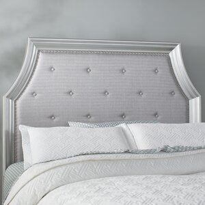 One Allium Way Valparaiso 5 Drawer Combo Dresser With Mirror Wayfair In 2020 Panel Headboard Headboard Upholstered Panels