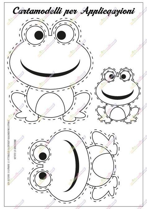 cartamodello-applique-rana