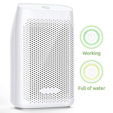 RV Baby Room /… Crawl Space Home Dehumidifier for Bathroom Hysure Quiet and Portable Dehumidifier Electric Deshumidificador Bedroom