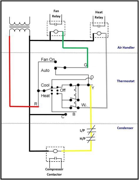 Automotive Air Conditioner Wiring Diagram