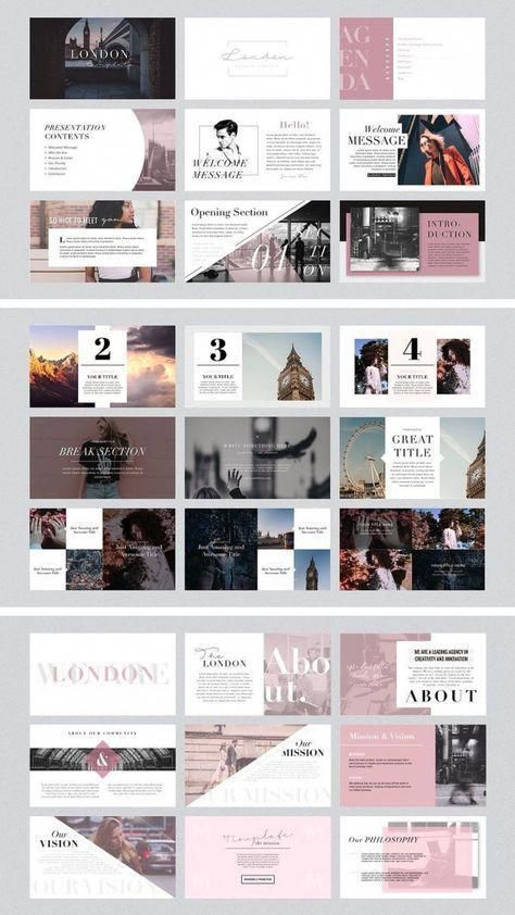 London Powerpoint And Keynote Template Powerpoint Presentation Design Presentation Design Layout Powerpoint Design Templates