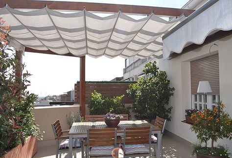 Las terrazas de Adriana y Carmen Pinterest Las terrazas, Casas