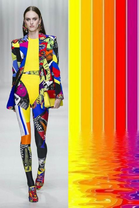WOMAN colorful combinations ( FASHION )