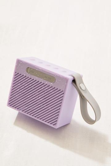 Splash Proof Mini Lilac Portable Bluetooth Speaker Bluetooth Speakers Portable Speaker Bluetooth Speaker