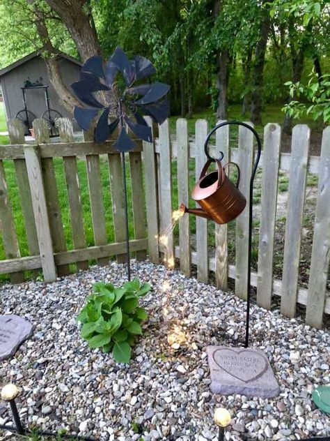 Star Shower Watering Can Decor with Lights | Gardeners.com - Flower Gardeners